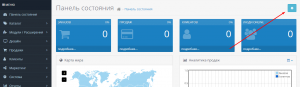 Dashboard OpenCart 3